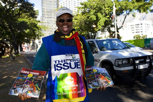 You are currently viewing The BIG Issue – Grant Clark and his Epic Journey