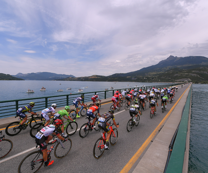 """Stage 19 was the longest stage of the 2017 Tour de france at 222.5 kilometers from Embrun to Salon de Provence. Photo: Tim De Waele 
